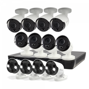 SWNVK-1675808B4FB 12 Camera 16 Channel 5MP Super HD NVR Security System -