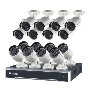 NVR24-7500 24 Channel 5MP Super HD HD Network Video Recorder & 16 x NHD-850 5MP Cameras