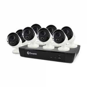 SWNVK-875808 8 Camera 8 Channel 5MP Super HD NVR Security System  -