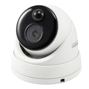 Swann Thermal Sensing PIR Security Camera: 3MP Super HD Dome with IR Night Vision - PRO-3MPMSD
