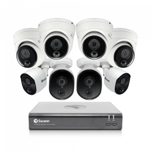 SODVK-1645804B4D 8 Camera 16 Channel 1080p Full HD DVR Security System -