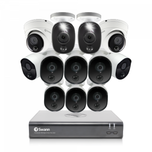 SODVK-16458B2D2WL 12 Camera 16 Channel 1080p Full HD DVR Security System -