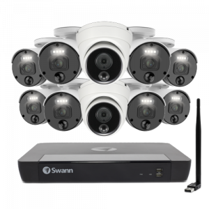 SONVK-1676808WL2D Master-Series 4K Upscale 10 Camera 16 Channel NVR Security System -