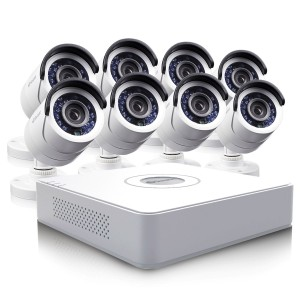 DVR16-1500 home surveillance system with 8 Pro-540 security cameras view 7