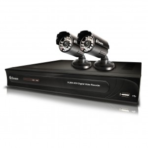SWDVK-432502 DVR4-3250 4 Channel 960H Digital Video Recorder & 2 x PRO-615 Cameras -