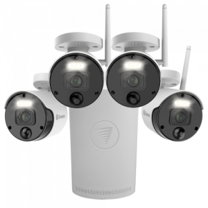 SWNVK-500KH4 4 Camera 4 Channel 1080P HD Wi-Fi NVR Security System -