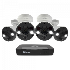 SWNVK-886804FB 4 Camera 8 Channel 4K Ultra HD NVR Security System -