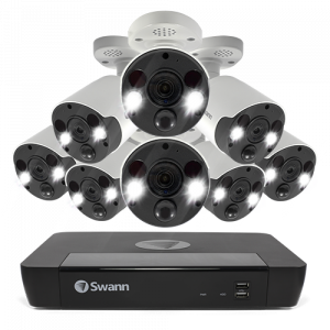 SONVK-1686808FB 8 Camera 16 Channel 4K Ultra HD NVR Security System -
