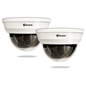 PRO-761 Super wide angle dome security camera view 2