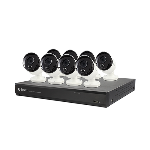 SWDVK-1655808 8 Camera 16 Channel 4K Ultra HD DVR Security System   -