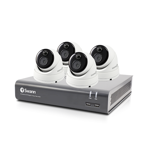 SWDVK-84580V4D 4 Camera 8 Channel 1080p Full HD DVR Security System -