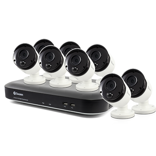SWDVK-849808 8 Camera 8 Channel 5MP Super HD DVR Security System   -
