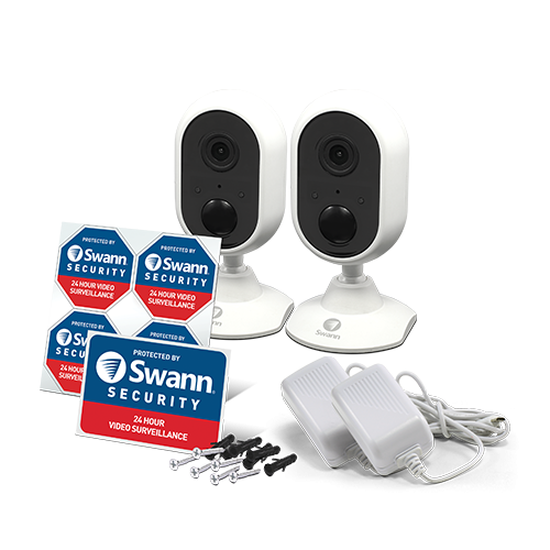 R-SWWHD-INDCAMPK2 Indoor Wi-Fi 1080p Security Camera 2 Pack -