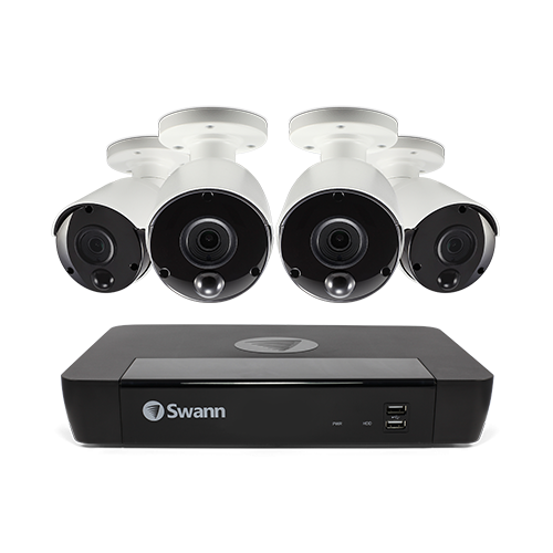 SWNVK-885804 4 Camera 8 Channel 4K Ultra HD NVR Security System   -