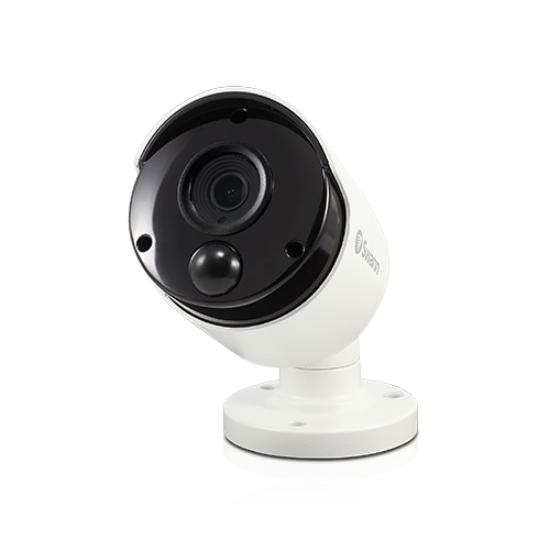 Indoor/Outdoor 2160p Wired Surveillance Camera