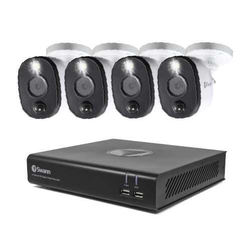 SWDVK-44480V4WL 4 Camera 4 Channel 1080p Full HD DVR Security System -