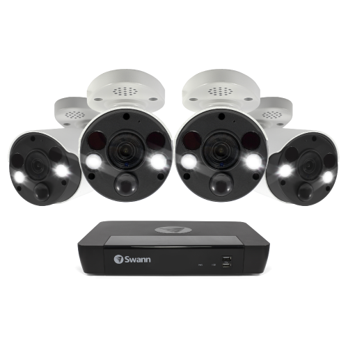 SWNVK-885804FB 4 Camera 8 Channel 4K Ultra HD NVR Security System -