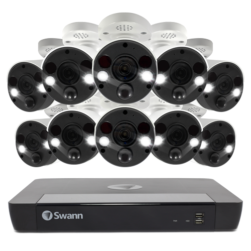 SWNVK-1686810FB 10 Camera 16 Channel 4K Ultra HD NVR Security System -
