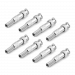 BNC Male Cable Connector - 8 Pack