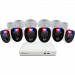 Enforcer 6 Camera 8 Channel 4K Ultra HD DVR Security System