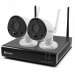 4 Channel 1080p Wireless Security System