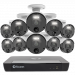 Master Series 4K HD 10 Camera 16 Channel NVR Security System