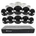 10 Camera 16 Channel 4K Ultra HD NVR Security System