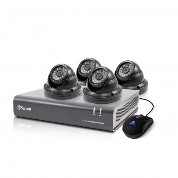 SWDVK-844004D DVR8-4400 - 8 Channel 720p Digital Video Recorder & 4 x PRO-A851 Cameras -