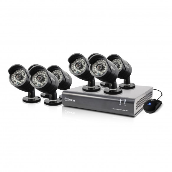 DVR8-4400 - 8 Channel 720p Digital Video Recorder & 8 x PRO-A850 Cameras