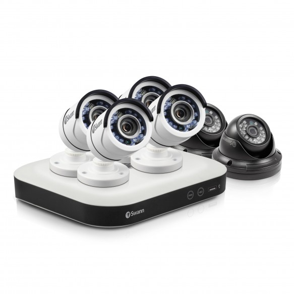 SWDSR-850006 DVR8-5000 - Home Security System with 6 x Security Cameras -