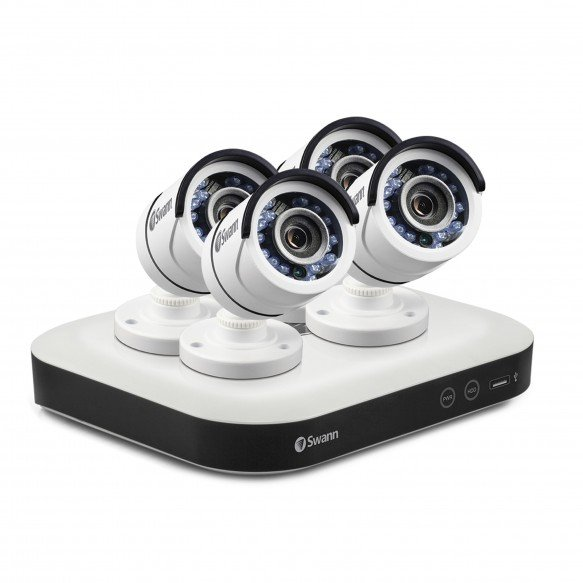 SWDSR-850004 DVR8-5000 - Home Security System with 4 x Security Cameras -