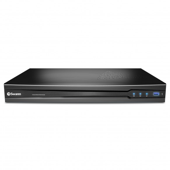 SONVR-87090 NVR8-7090 8 Channel 3MP Network Video Recorder with Smartphone Viewing -