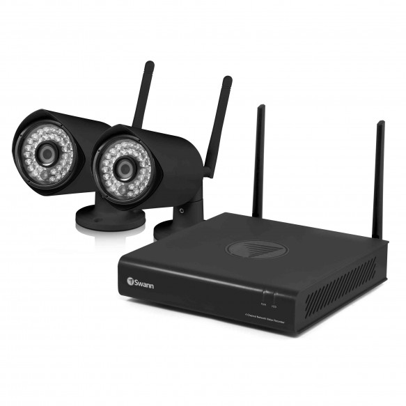 SWNVW-GUAEYE GuardianEye - Wi-Fi Full HD 1080p Monitoring System & Wireless Camera 2 pack -