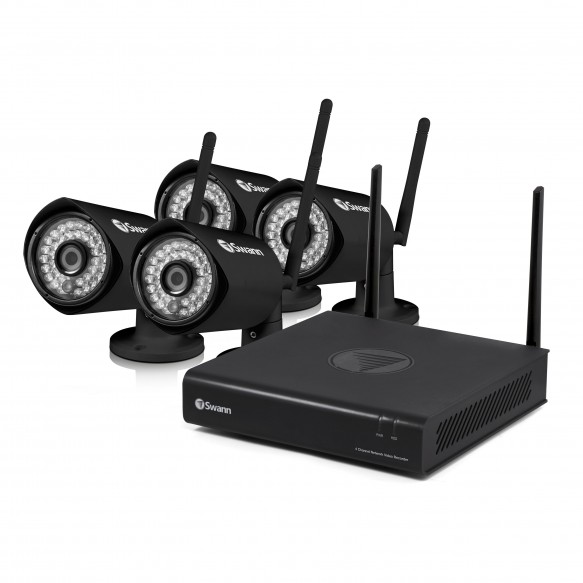 CONVW-EZ4VIEW4 EasyView - Wi-Fi Full HD 1080p Monitoring System & Wireless Camera 4 pack -