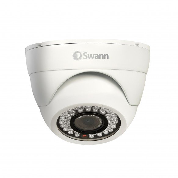 SWPRO-843CAM PRO-843 - High-Resolution Dome Camera - Night Vision 85ft / 25m -