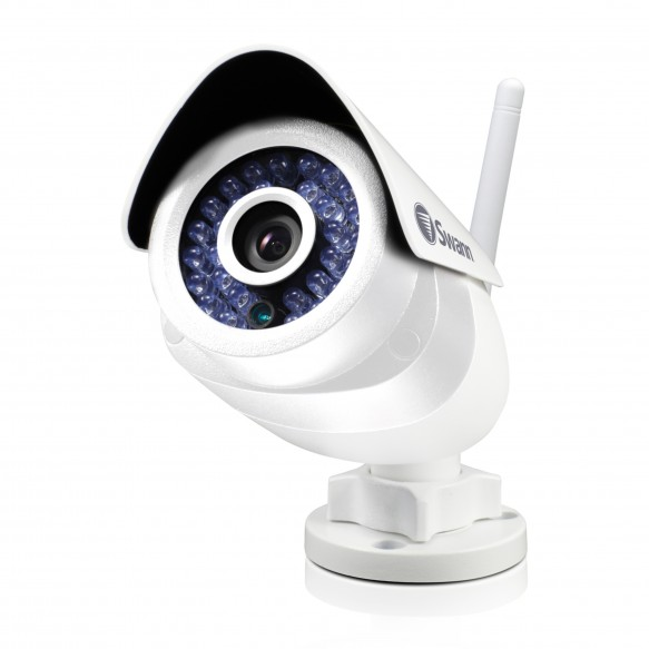 SWADS-466CAM Swann Wi-Fi Security Camera: 720p HD Outdoor Camera with Smart Alerts & Audio - ADS-466 -