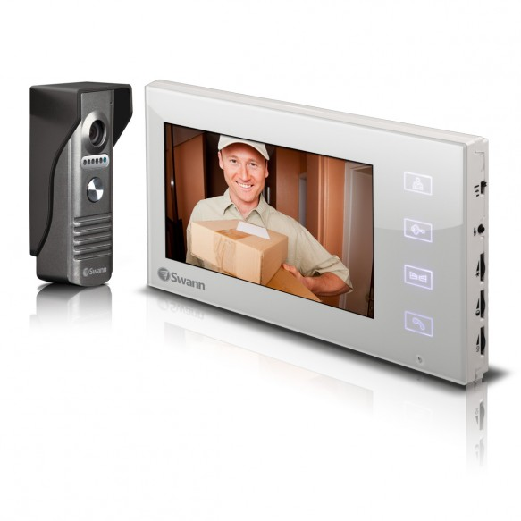 "Doorphone Video Intercom Color Camera with 7"" LCD Screen"