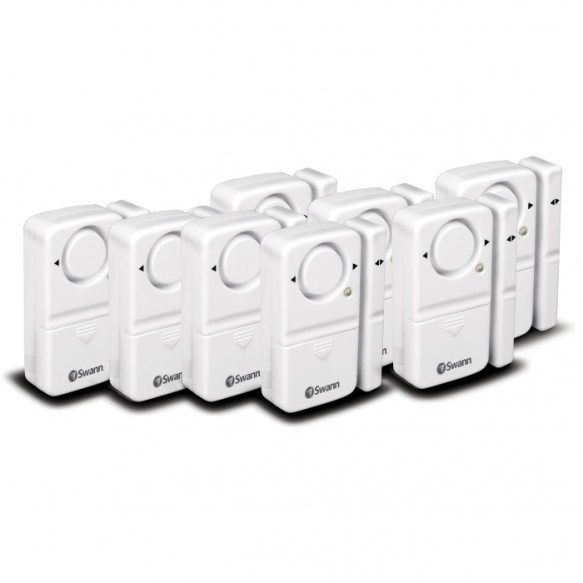 SWHOM-MDAPK8 Magnetic Window/Door Alarm 8 Pack -