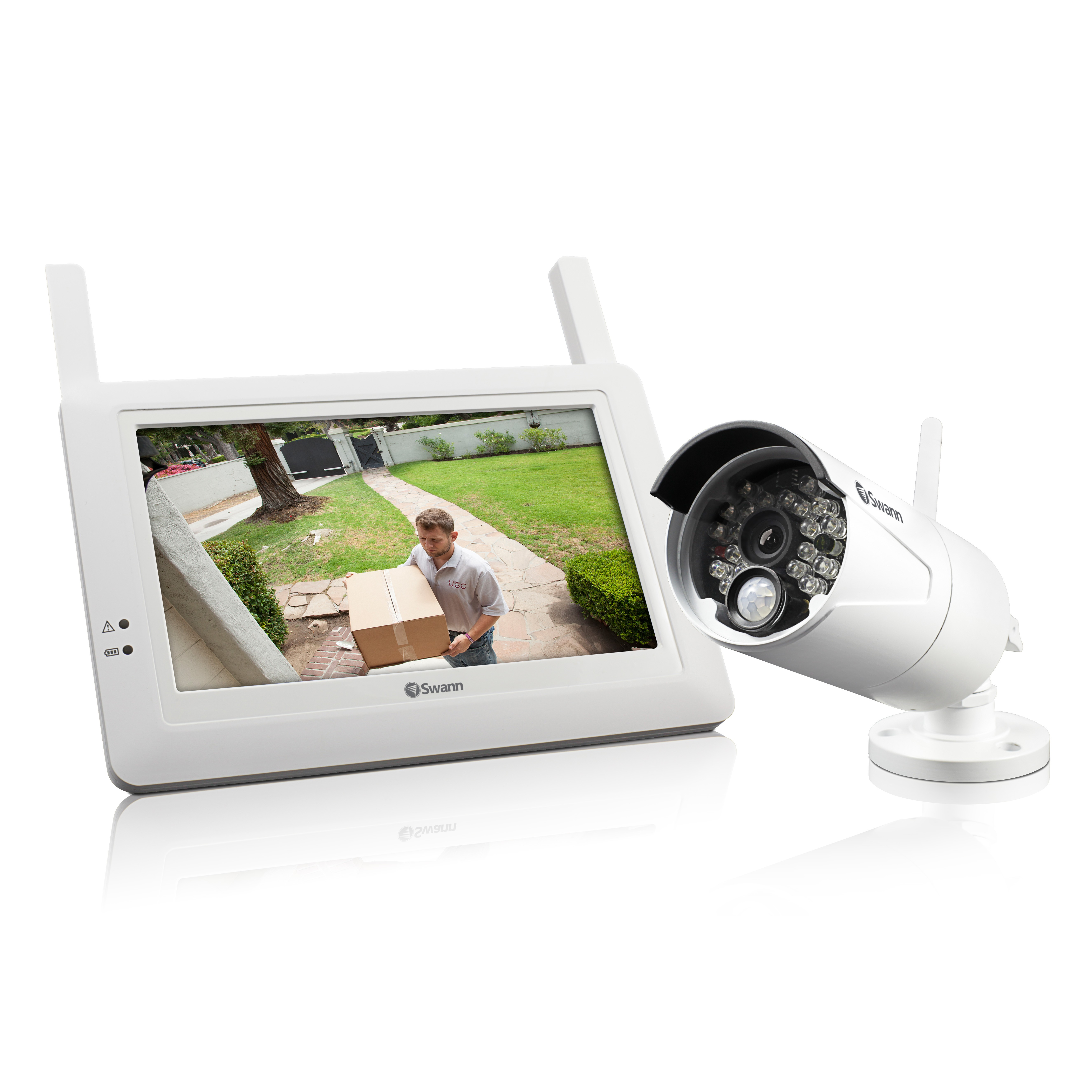 ADW-410 Wireless security system monitor and camera Australia