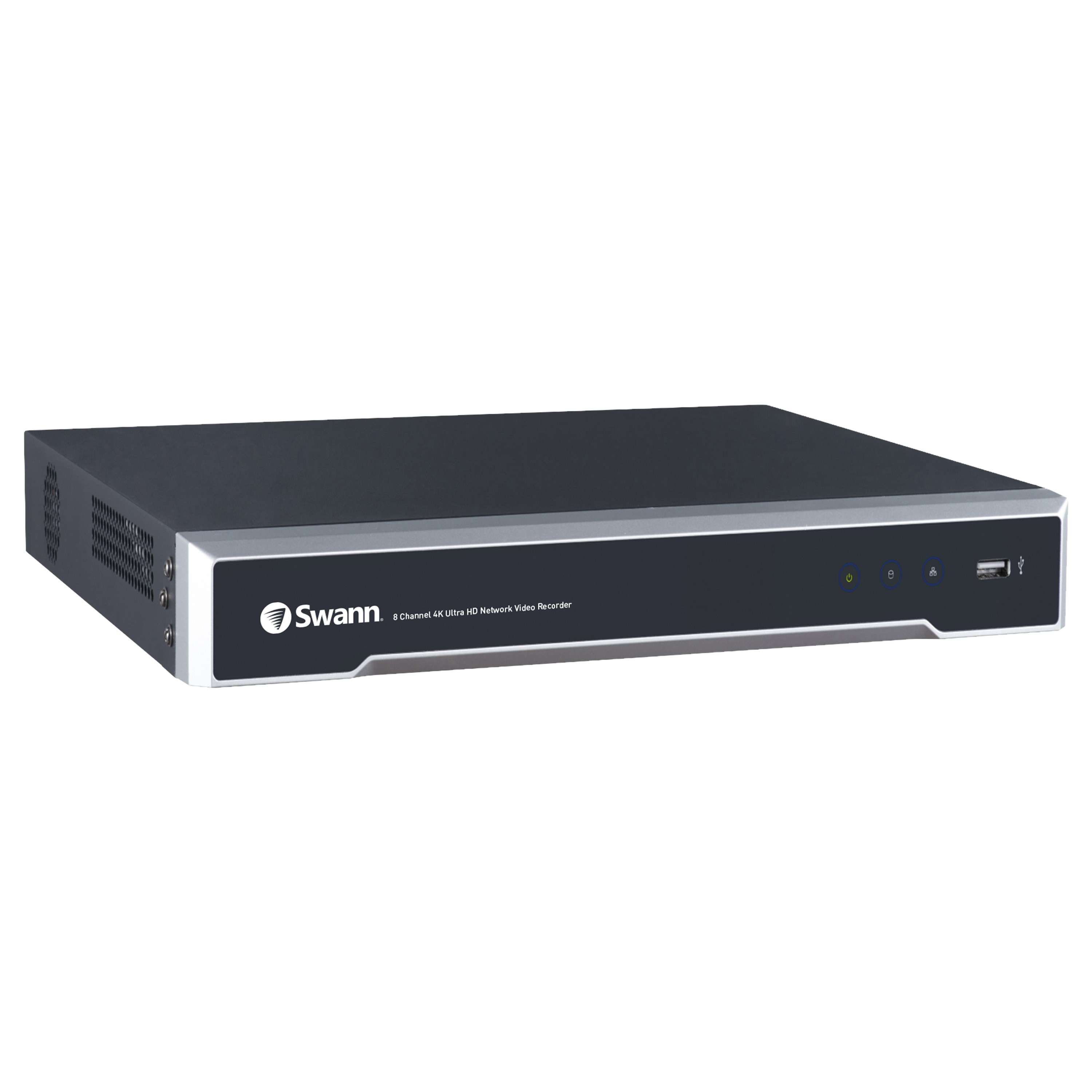 SONVR-88000T Swann 8 Channel Network Video Recorder: 4K Ultra HD NVR-8000 with 2TB HDD -