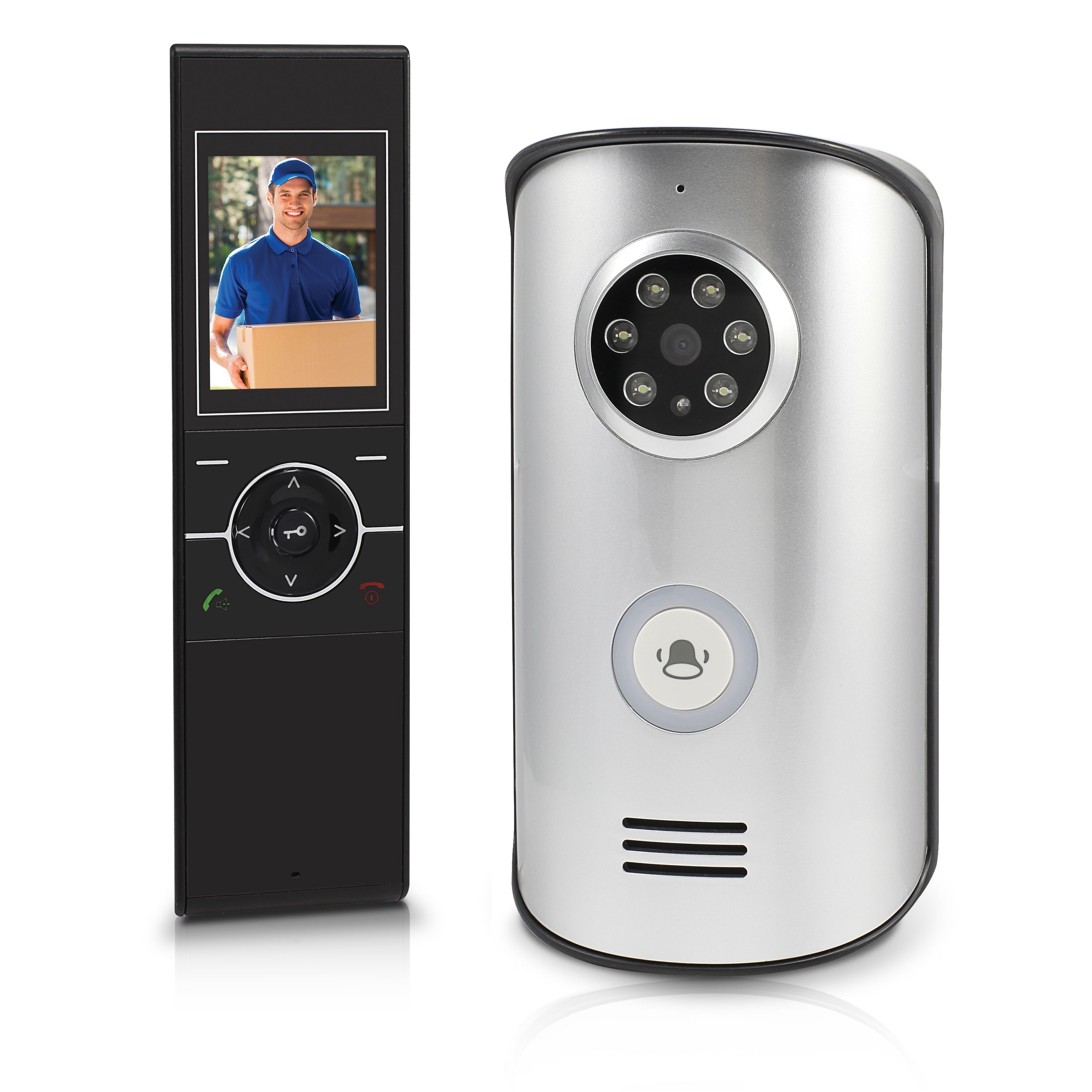 Swann Wireless Intercom With Doorbell Amp 2 4 Video