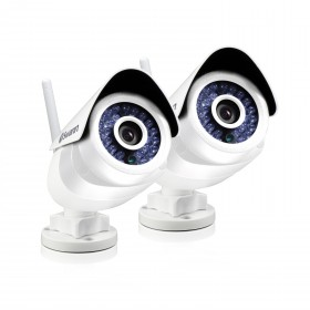 ADS-466 Indoor & Outdoor Wi-Fi Security Camera with Smart Alerts - Twin Pack Bundle