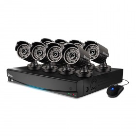 DVR16-3425 16 Channel 960H Digital Video Recorder & 8 x PRO-735 Cameras