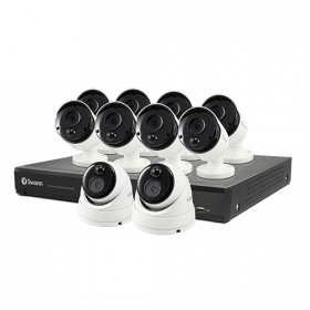 16 Channel 5MP DVR Security System