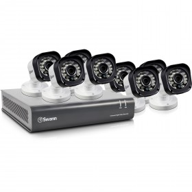 DVR8-1580 - 8 Channel 720p Digital Video Recorder & 8 x PRO-T835 Cameras