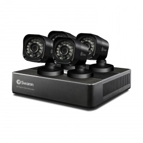 Swann 4 Channel Security System: 720p HD DVR-1590 with 1TB HDD & 4 x PRO-T835 720p HD Cameras