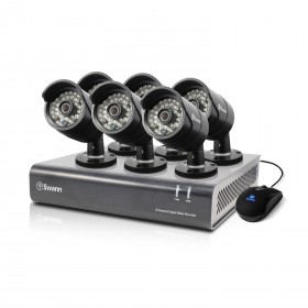 DVR8-4400 - 8 Channel 720p Digital Video Recorder & 6 x PRO-A850 Cameras (Plain Box Packaging)