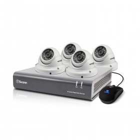 DVR8-4550 - 8 Channel 1080p Digital Video Recorder & 4 x PRO-T854 Dome Cameras