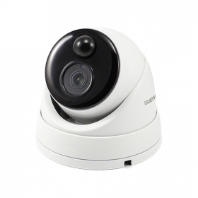 4K Ultra HD Thermal Sensing Dome IP Security Camera