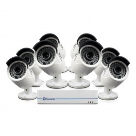 NVR8-7285 8 Channel 1080p Network Video Recorder & 8 x NHD-810 Cameras (Plain Box Packaging)